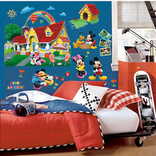 Nice 3D Wall Sticker Mickey Mouse Clubhouse Mural PVC Decal Kids Nursery Decor