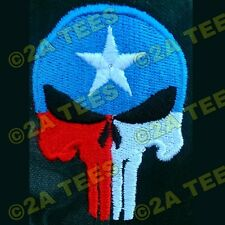 """TEXAS PUNISHER"" Embroidered Hat! 7 different color/design options!  MOLON LABE"