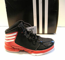 ADIDAS BOYS-YOUTH MAD HANDLE J BASKETBALL SHOES-SNEAKERS-G65949- BLACK/ RED