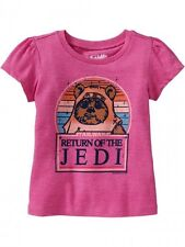NWT Star Wars Ewok Return of the Jedi Top Tee Old Navy Baby Toddler Girl