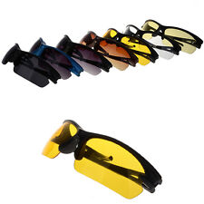 UV400 HD Night Vision Polarized Glasses Aviator Driving Sunglasses Eyewear
