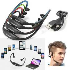 Sports Bluetooth Stereo Wireless Headset Earphone Headphone for Samsung iPhone