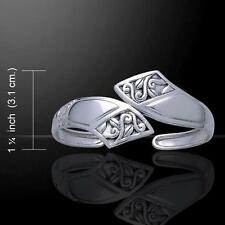 Celtic Knotwork Silver Sterling Cuff Bracelet