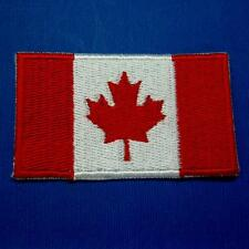 Canada Flag Maple Iron on Sew Patch Applique Badge Embroidered Biker Applique