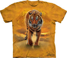 THE MOUNTAIN RISING SUN TIGER BENGAL ANIMAL JUNGLE NATURE T TEE SHIRT S-5XL