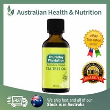 THURSDAY PLANTATION - 100% PURE TEA TREE OIL - ALL SIZES + FREE SAMPLE