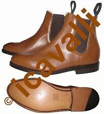 Leather jodhpur boots with leather sewn sole, Bottines, Stivaletti,Leder Bottine