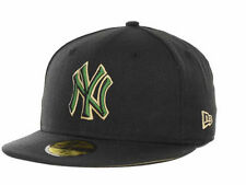 New Era 59Fifty New York Yankees MLB Camo Bevel Black & Green Fitted Cap Hat $36