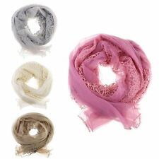Ladies Rope chiffon High Quality Cowl Neck Loop summer Scarf Tube Type