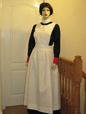WWI/WWII Full Bib Nurse's Apron ( Poly/Cotton)