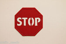 20 PC - STOP Sign  Die Cuts  Scrapbooking