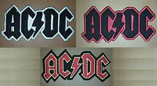 AC/DC ACDC Rock Music Band Iron/ Sew-on Embroidered Patch/ Badge/ Logo