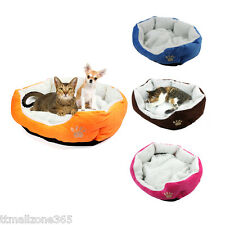Fleece Pet Bedding Cat Dog Puppy Soft Warm Bed Plush Kennel Mat Nest House