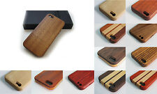 Deluxe iwooden Natural Real Wood Case Cover for iPhone 5 / 5s / 5c / 6 / 6 Plus