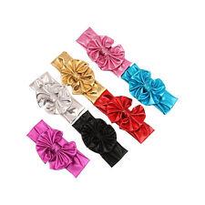 Hot Cute Girls Kids Baby Big Bow Hairband Headband Turban Stretch Knot Head Wrap