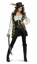 Pirates Of The Carribean Angelica Jack Sparrow Disney Adult Costume 29846