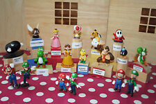 NEW SUPER MARIO BROS, MARIO KART, SUPER MARIO GALAXY  ACTION FIGURES, WII & 3DS