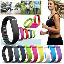 Replacement Large Rubber Wristband Bracelet for Fitbit Flex Wireless Band 1Pc