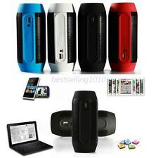 Hot Portable PULSE LED Light Stereo Wireless Bluetooth Speaker With FM For Party