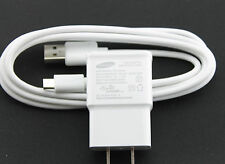 OEM Samsung 2A Wall Home AC House Adapter + 6 Ft Micro USB Sync Charger Cable