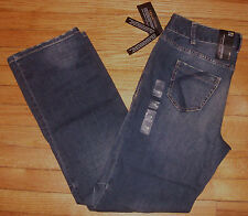 NWT $60 LANE BRYANT Right Fit Technology Distinctly Boot Distressed Blue Jeans!