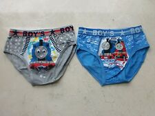 2 pairs/set Thomas the Train and Friends Boys Briefs Underwear for 2T-8yrs