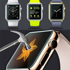 Premium Real Tempered Glass Film Screen Protector Guard For Apple Watch 38 42mm