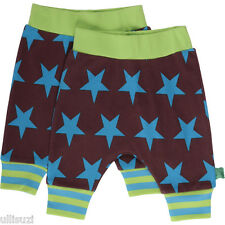 Fred´s World by Green Cotton Star funky Baby Pants Hose Sterne blue Bio GOTS