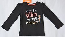NWT Gymboree Right Meow Are You Kitten Me Right Meow? Tee 12-18, 18-24, 2T 3T 5T