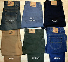 MENS M&S STORMWEAR BLUE HARBOUR 6 COLOURS ADDED STRETCH REGULAR FIT JEANS
