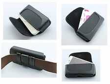 Leather Pouch Belt Clip w Loops Phone Cover ShockProof Holster Perfect Fit Case