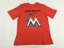 Miami Marlins Baseball Official MLB Genuine Merchandise Youth T-Shirt New