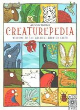 NEW Creaturepedia by Adrienne Barman (English) Free Shipping