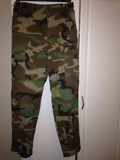 Pants Trouser Hot weather Woodland Camouflage  combat Small Regular