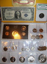 Quality U.S.COINS packed in a GREAT CIGAR BOX ! (C1)