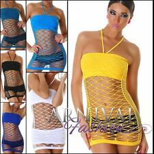 NEW SEXY WOMEN'S MESH TOP DRESS shop online CLUBWEAR FISHNET DANCE TOPS petite