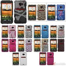 For SPRINT HTC EVO 4G (LTE Version) Bling Rhinestones/Diamond Case Cover