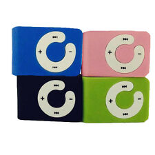 USB Mini Clip MP3 Player Support upto 16GB Micro SD TF Card Music Media New