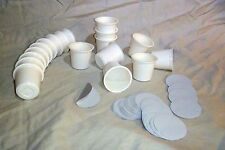 Empty KCup Cups with Sealed Filter Paper and Lids for Keurig Single Serve Coffee
