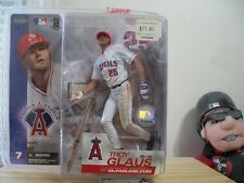 TROY GLAUS MCFARLANE ANGELS STATUE TOY SERIES 7 WHITE JERSEY MLB -(44)