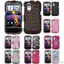 For HTC Amaze 4G Case Cover Bling Rhinestones Diamond Protector
