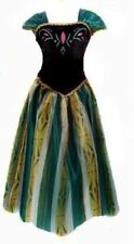FROZEN STYLE ADULT  PRINCESS ANNA COSPLAY DRESS PARTY FANCY COSTUME 011