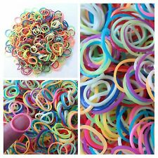 250/500/1000pcs Ponytail Hair Rubber bands wholesale Hair small girl dog doll