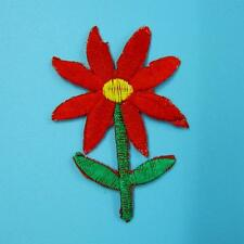 Flower Floral Lace Iron on Sew Patch Applique Badge Embroidered Dress Clothes.