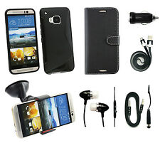 Accessory Bundle Pack for HTC One M9, A9, Desire 510, 610, 620, 626