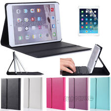 Ultra Slim Magnetic PU Leather Smart Cover For Apple iPad With Hard Back Case