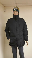 Authentic Woolrich Men's Black Langhorne Parka Jacket 550 Fill Down 16106