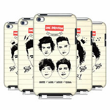 OFFICIAL ONE DIRECTION 1D NOTEBOOK DOODLES CASE FOR APPLE iPOD TOUCH 4G 4TH GEN
