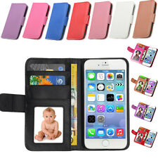 For Apple iPhone 6/6 plus New Luxury Flat Leather Flip Stand Wallet Case Cover