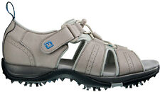 Ladies FootJoy GreenJoy Golf Sandals 48479 Driftwood Womens CLOSEOUT New
